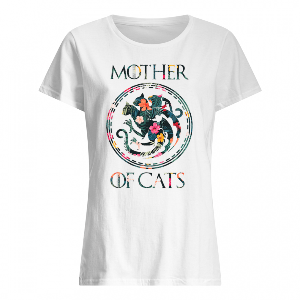 Mother of cats shirt ladies tee