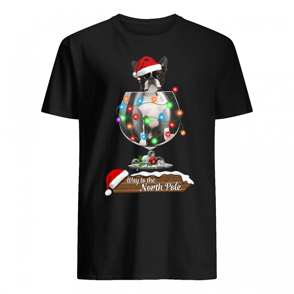 Way to the North Pole shirt