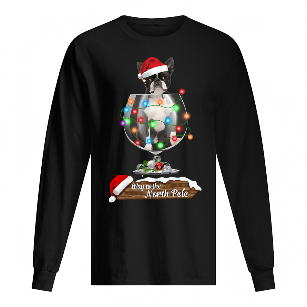 Way to the North Pole shirt long sleeved