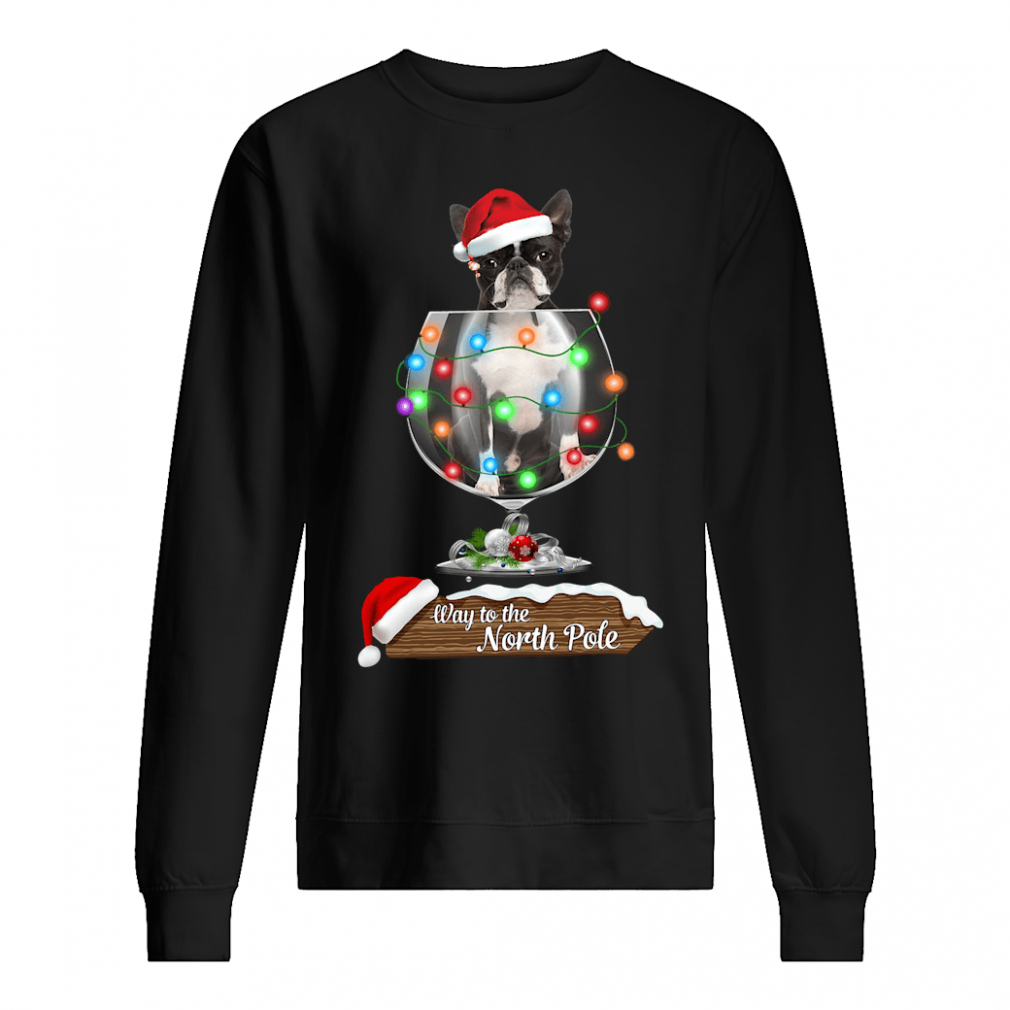 Way to the North Pole shirt sweater