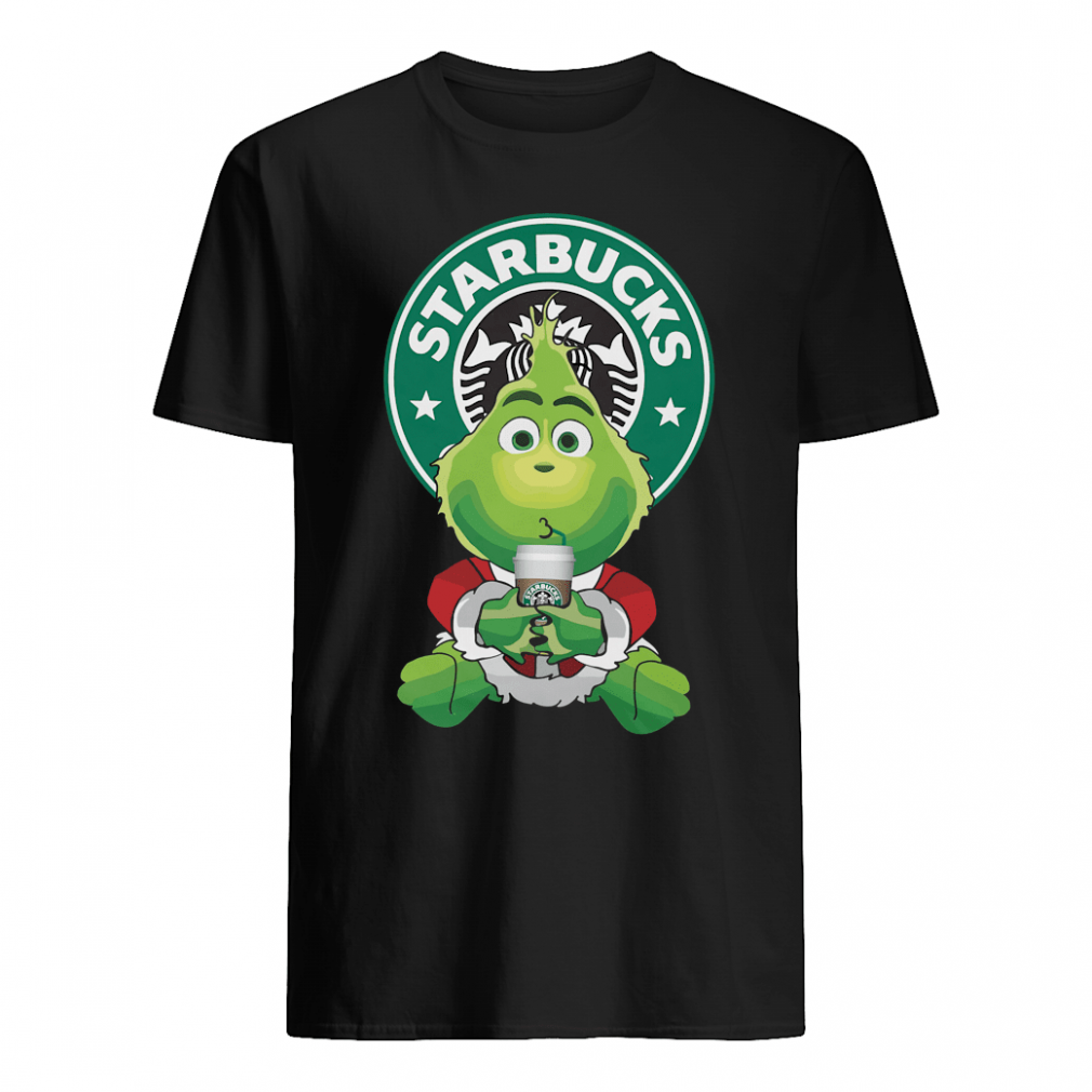 Baby Grinch Starbucks shirt
