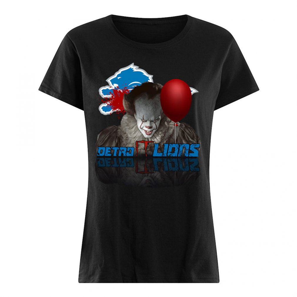 Detroit Lions T shirt ladies tee