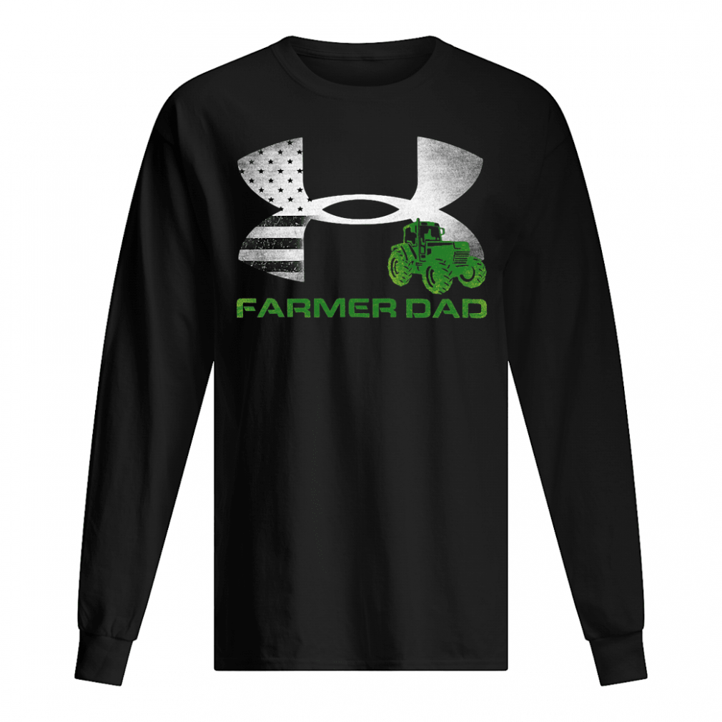 Farmer Dad logos shirt long sleeved