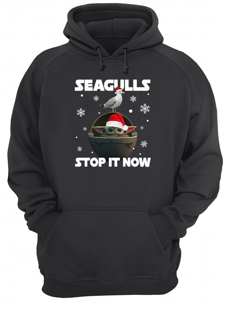 Seagulls stop it now shirt hoodie