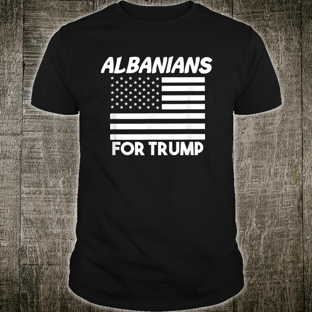 Albanians For Trump 2020 Shirt