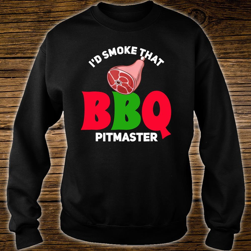 BBQ Smoker Grilling Grill Master Shirt sweater