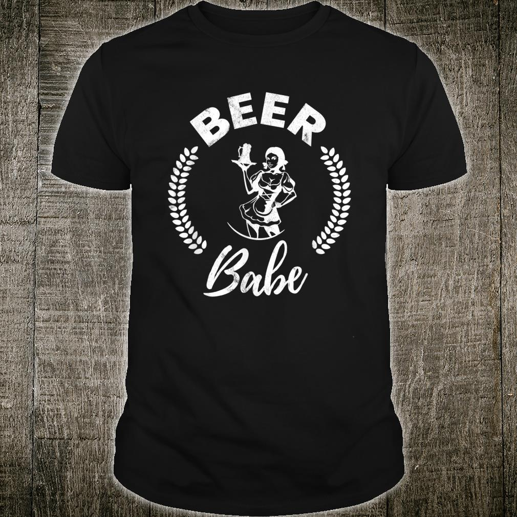 Beer Babe Beer And Beer Drinkers Edition Shirt