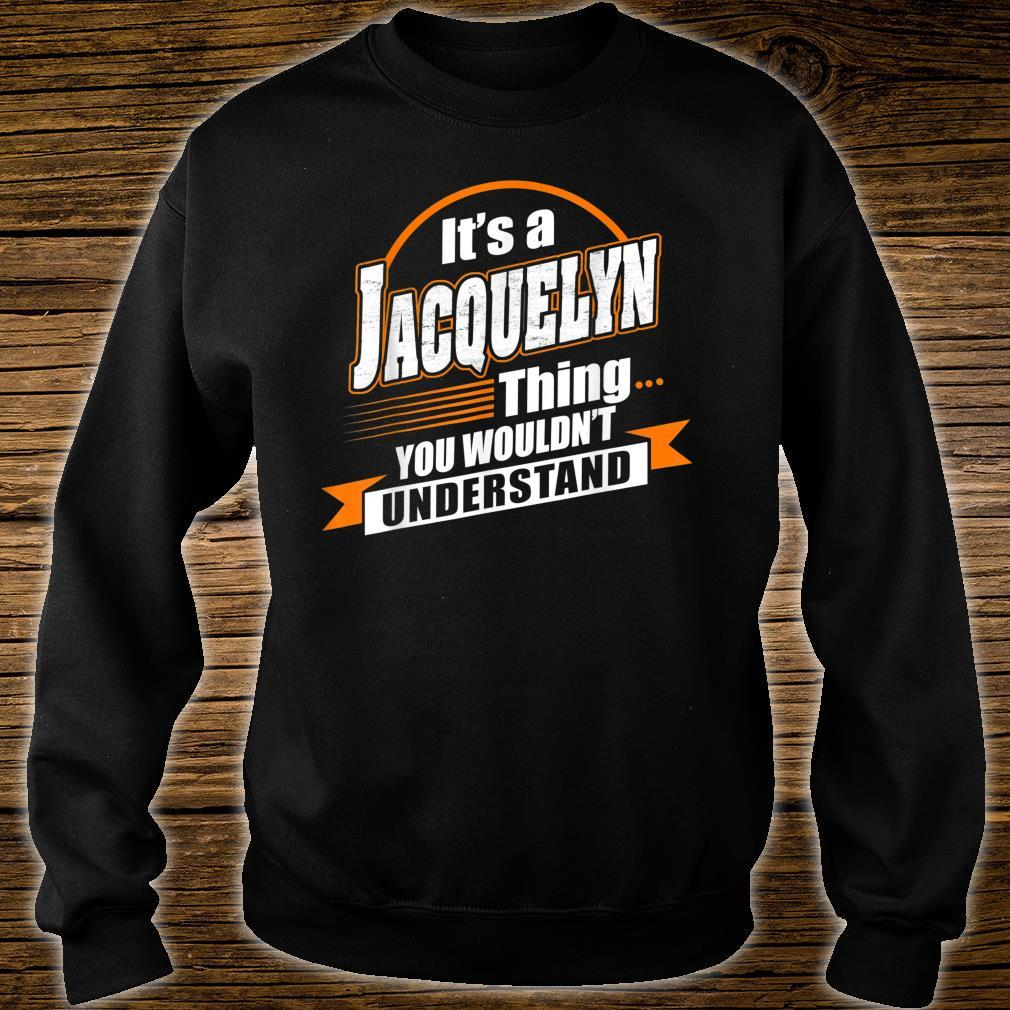 Best For JACQUELYN JACQUELYN Named Shirt sweater
