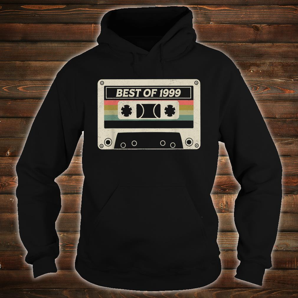 Best Of 1999 22nd Birthday Retro Cassette Tape Shirt hoodie