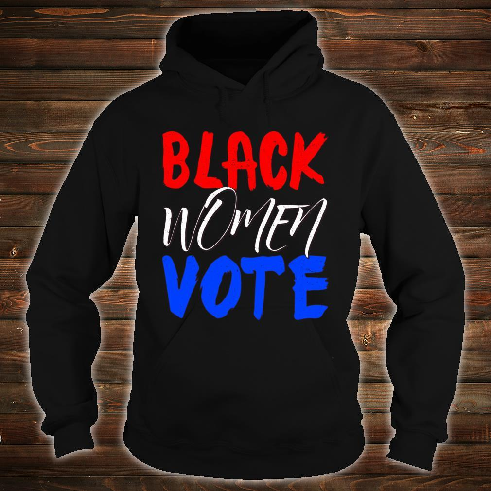 Black Vote BLM Blackness Factory Afro Americans Queen Shirt hoodie