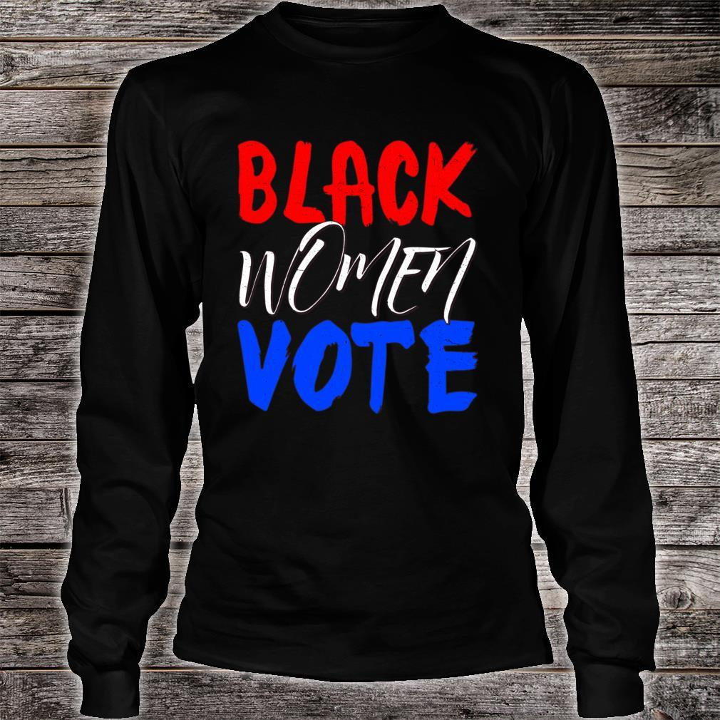 Black Vote BLM Blackness Factory Afro Americans Queen Shirt long sleeved