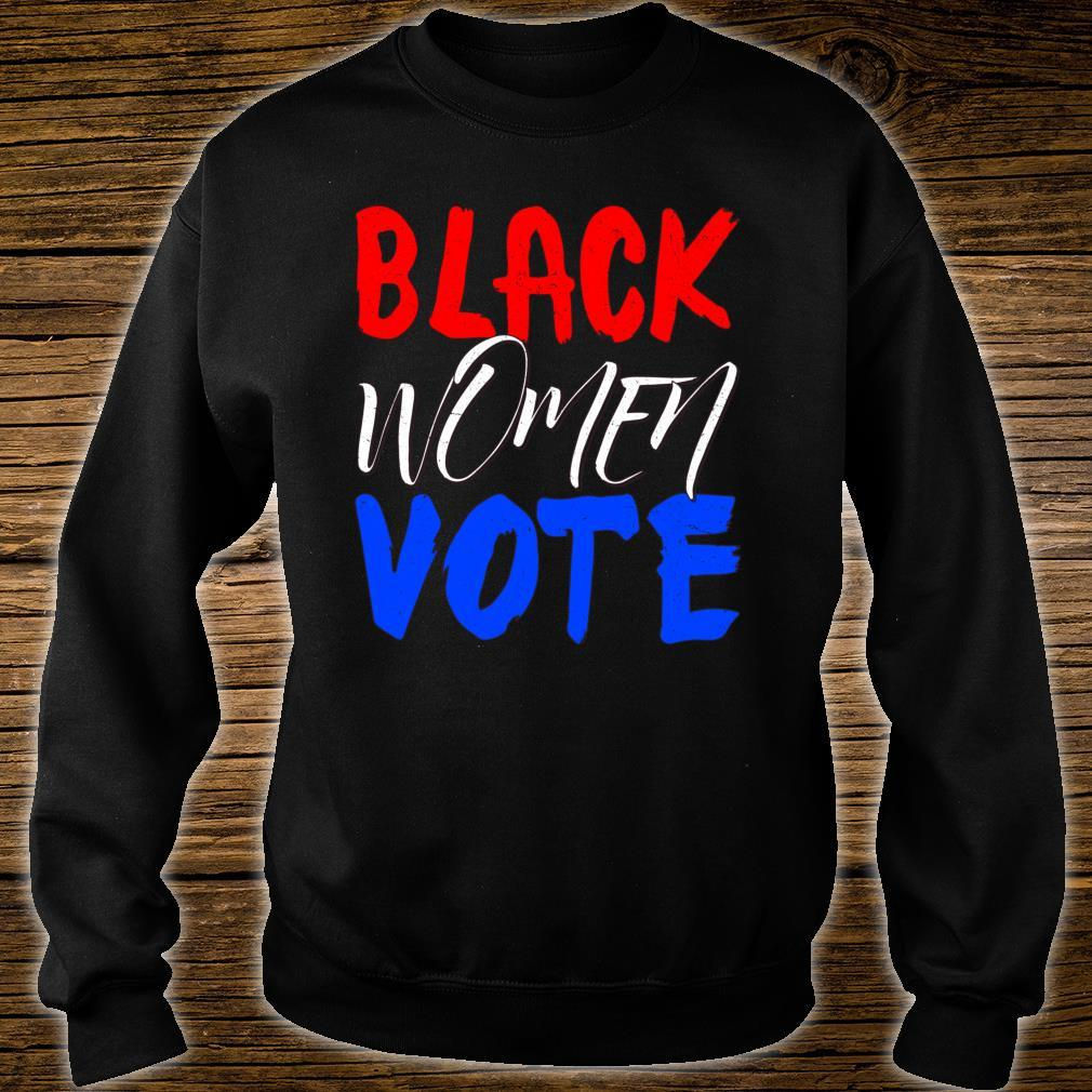 Black Vote BLM Blackness Factory Afro Americans Queen Shirt sweater
