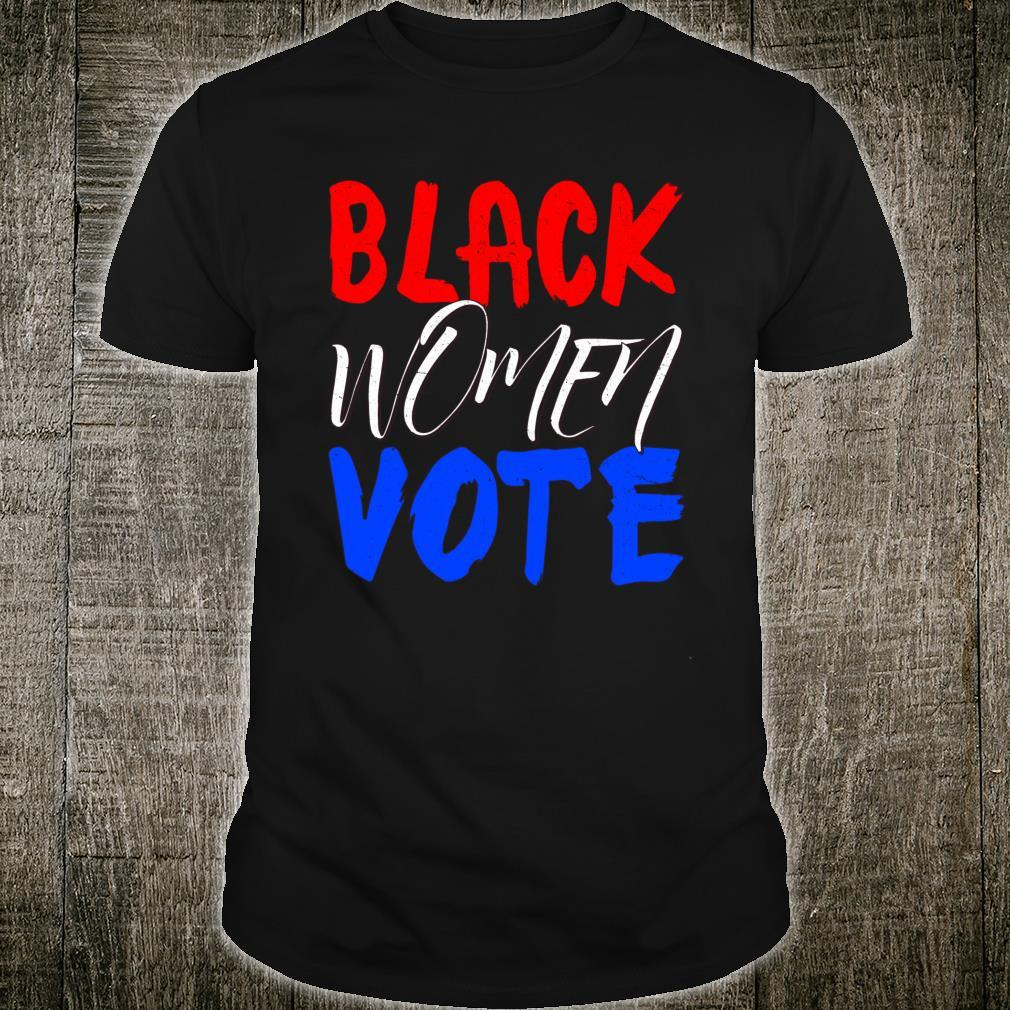 Black Vote BLM Blackness Factory Afro Americans Queen Shirt