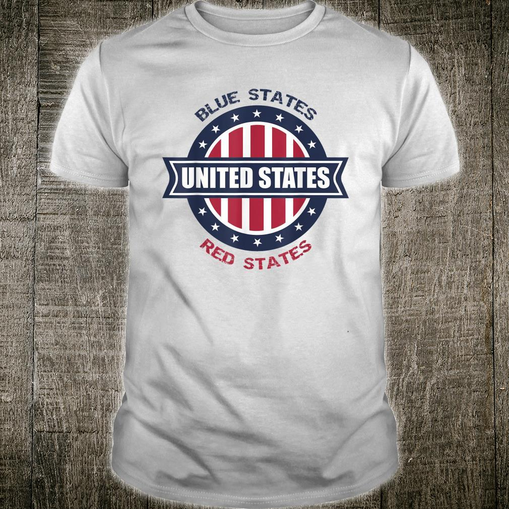 Blue Red United States Final US Presidential Debate 2020 Shirt
