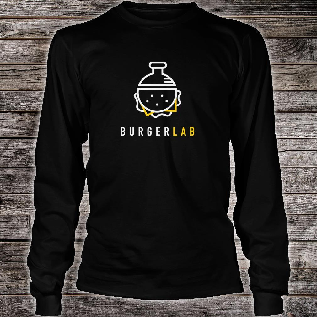 Burger Lab Launch Edition Food Truck Brand Shirt long sleeved