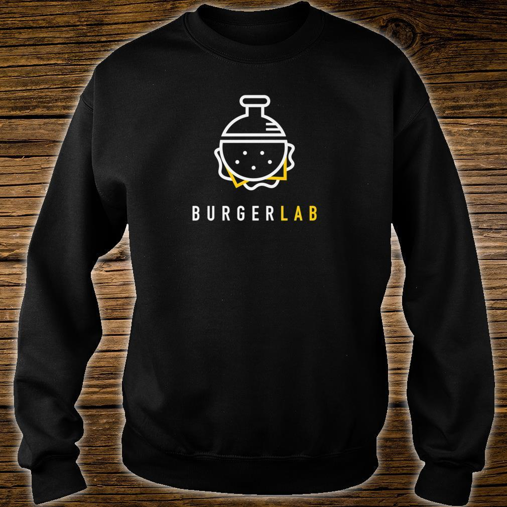 Burger Lab Launch Edition Food Truck Brand Shirt sweater
