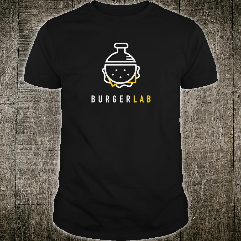Burger Lab Launch Edition Food Truck Brand Shirt