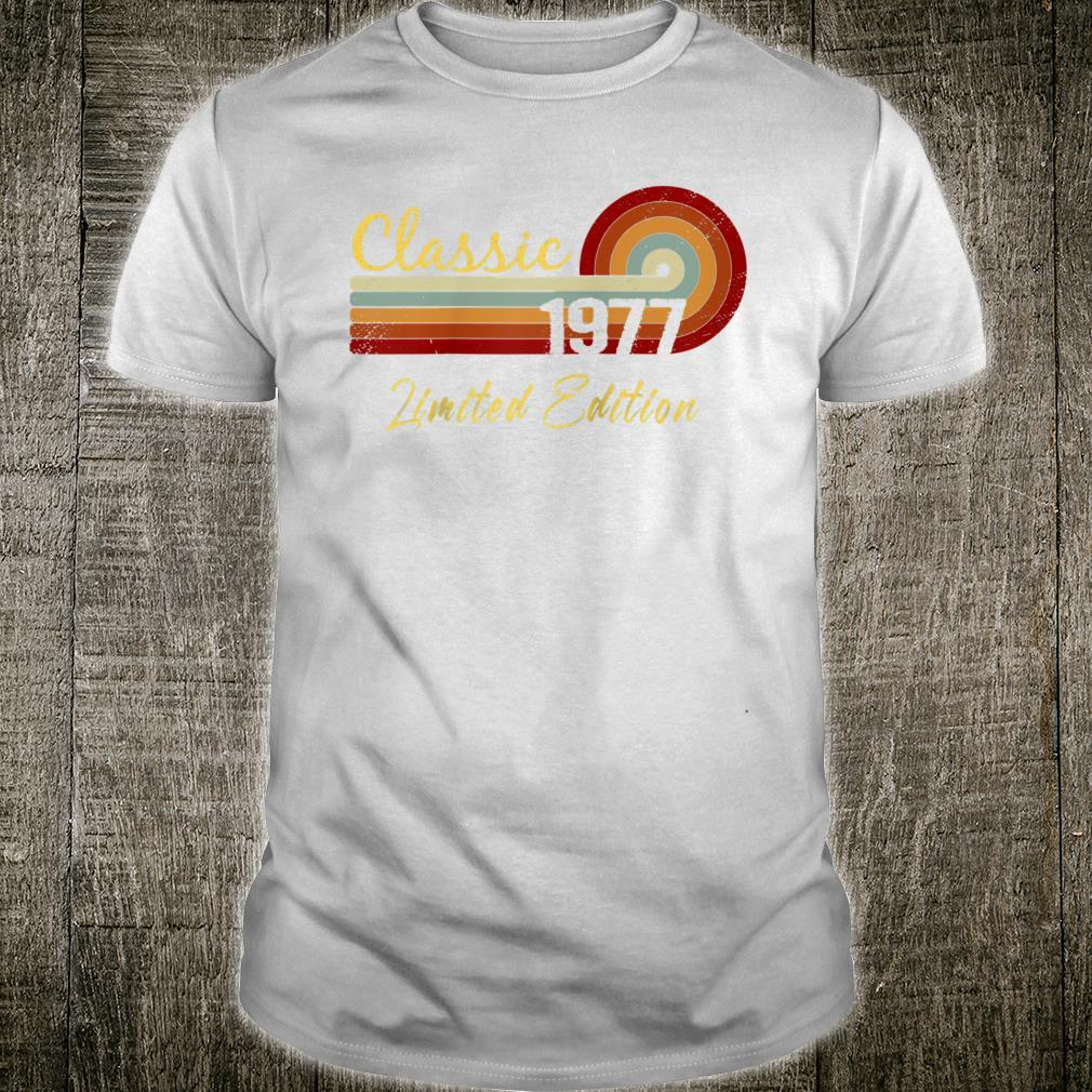 Classic Limited Edition 1977 Shirt