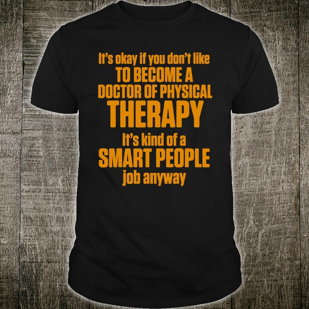 DPT Doctor of Physical Therapy Smart Physiotherapy Shirt