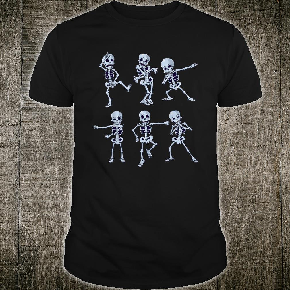Dancing Skeleton Dabbing Skeletons Dance Shirt