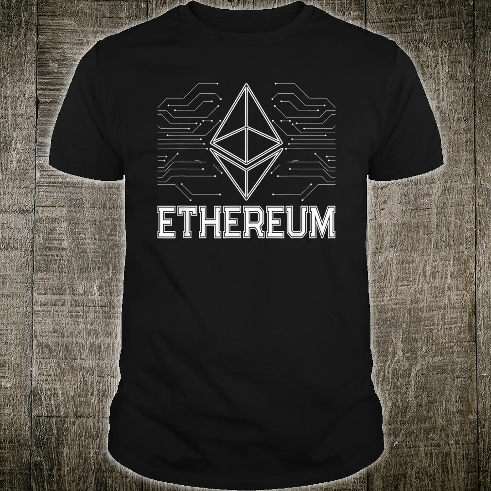 Ethereum 2021 The Future Of Cryptocurrency Shirt