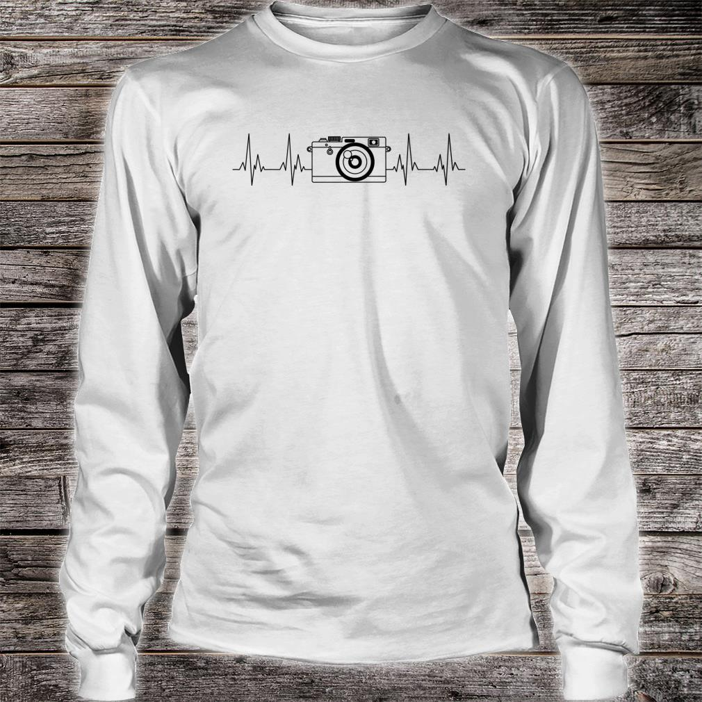 Funny Photographer Photography Cameras Shirt long sleeved