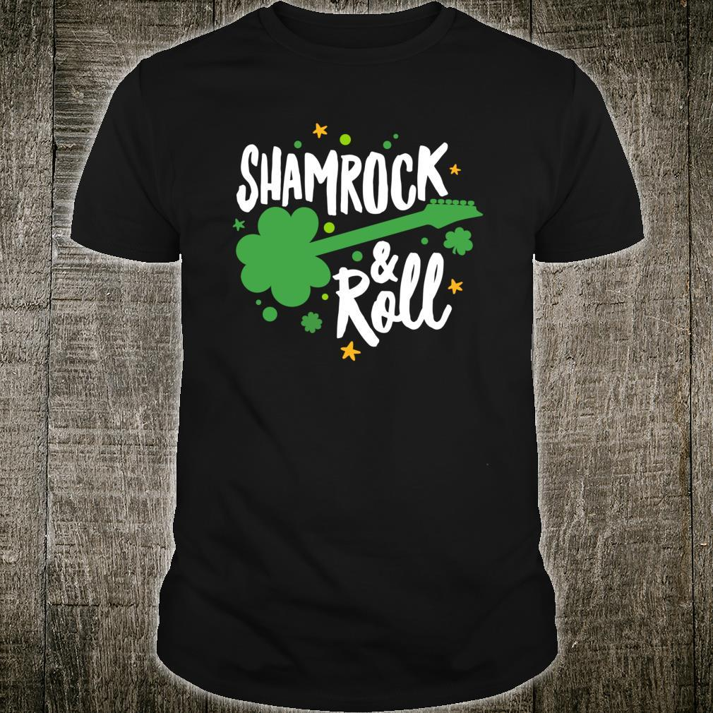 Funny Shamrock & Roll Shirt