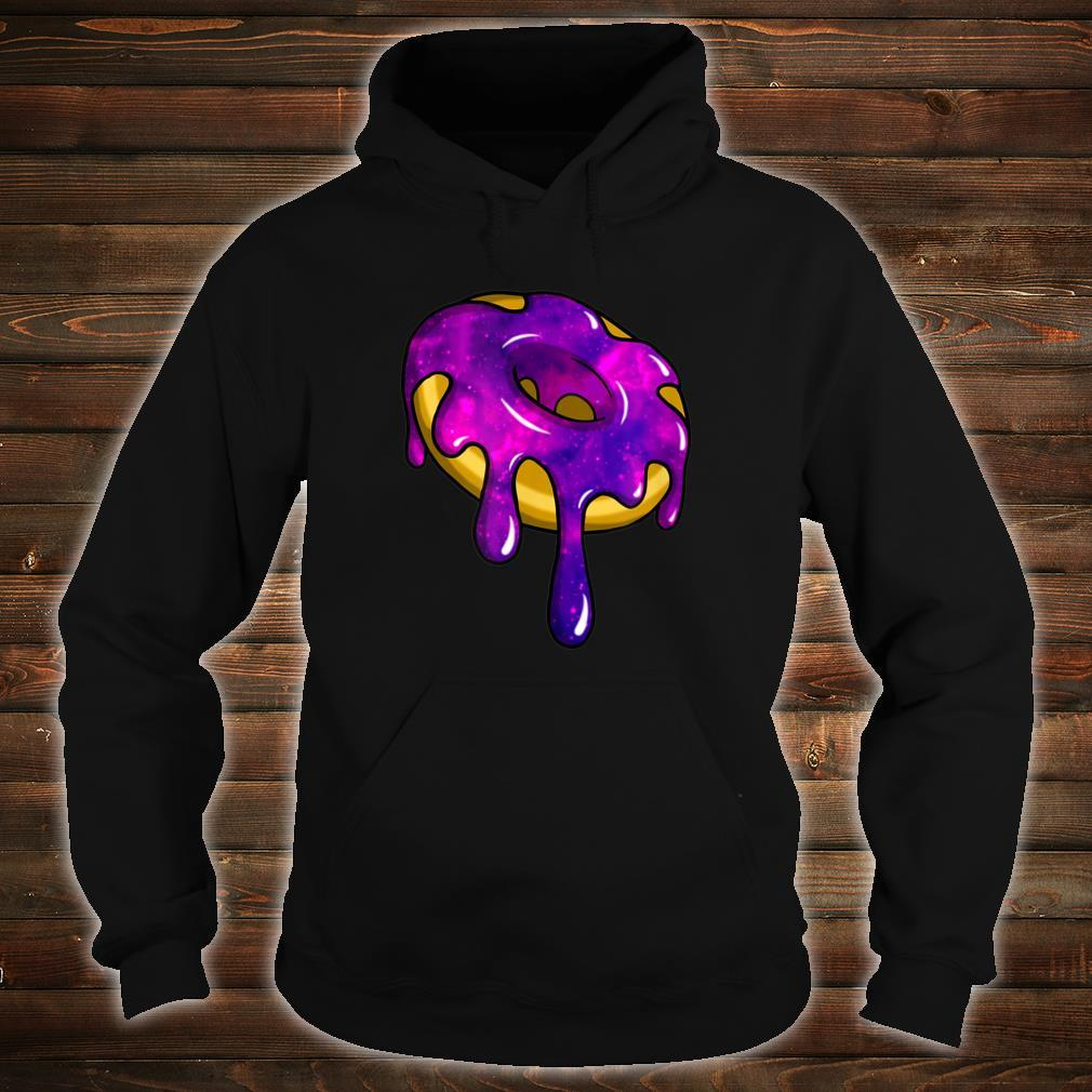 Glazed Galaxy Intergalactic Space Donut Shirt hoodie