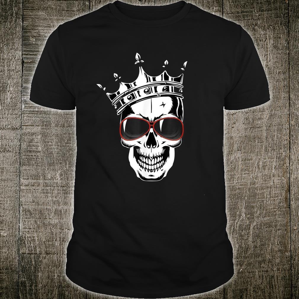 Halloween skeleton Skull Scary face cute outfit Shirt