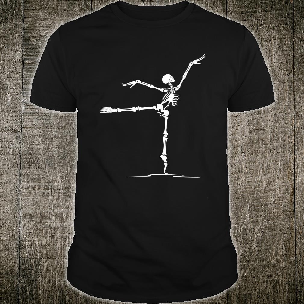 Happy Halloween Ballet Dancer Skeleton Costume Shirt