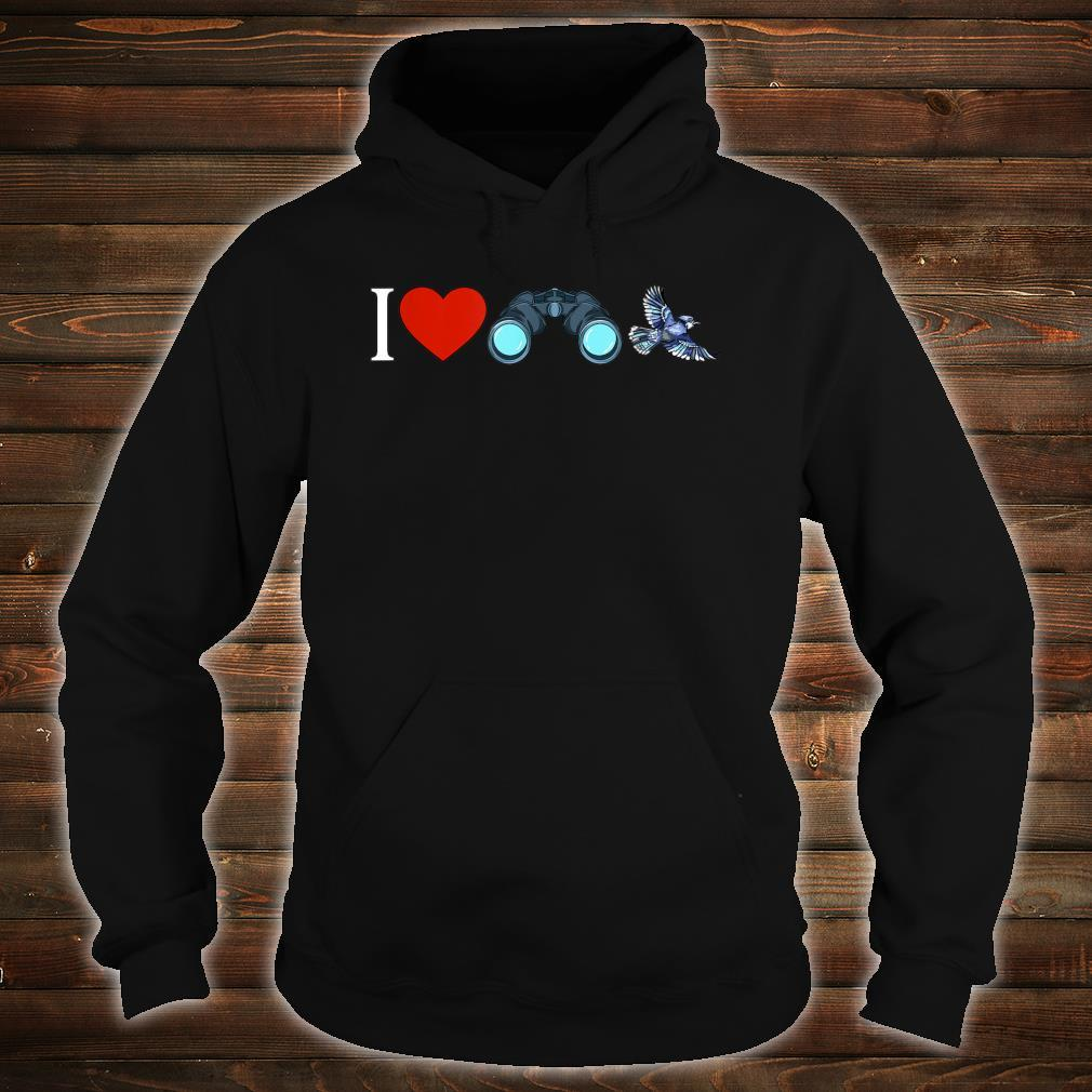 I Love Bird Watching Birding Birdwatchings Shirt hoodie