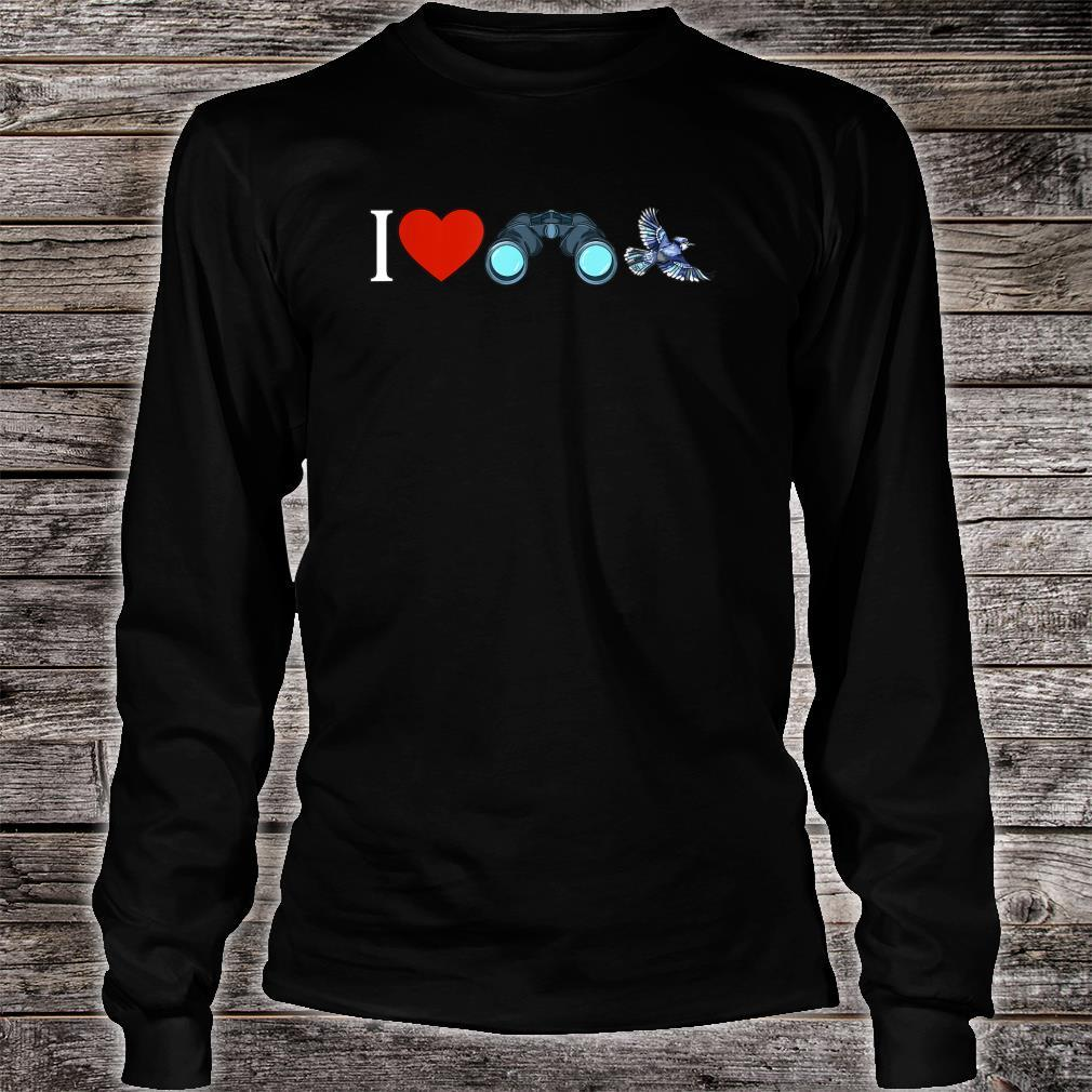 I Love Bird Watching Birding Birdwatchings Shirt long sleeved