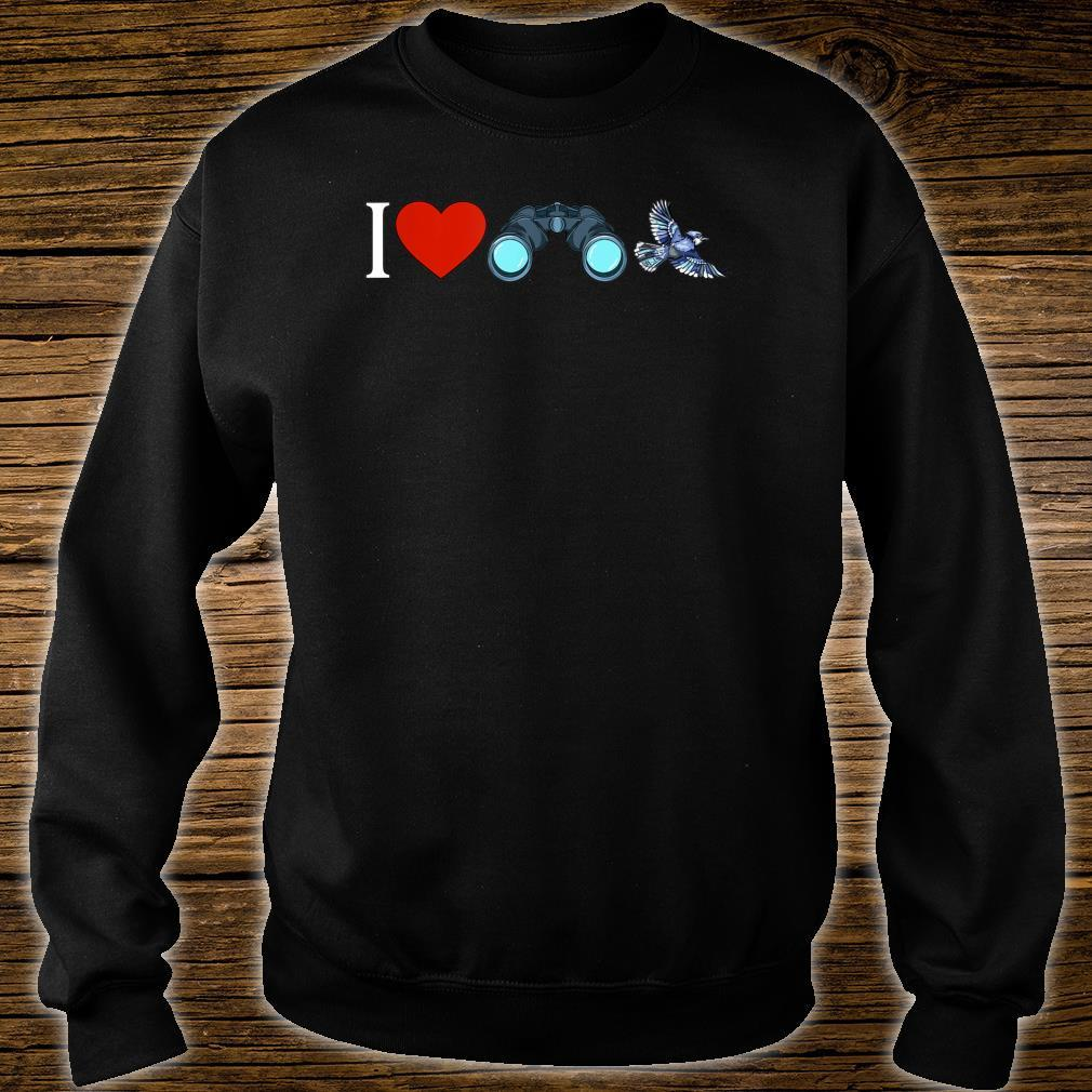 I Love Bird Watching Birding Birdwatchings Shirt sweater