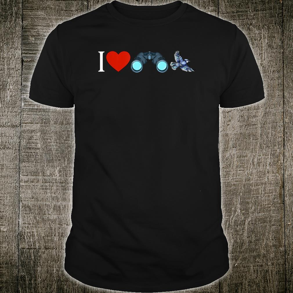 I Love Bird Watching Birding Birdwatchings Shirt