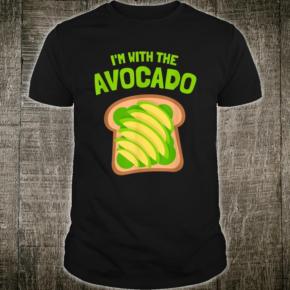 I'm with the Avocado Toast Halloween Costume Shirt