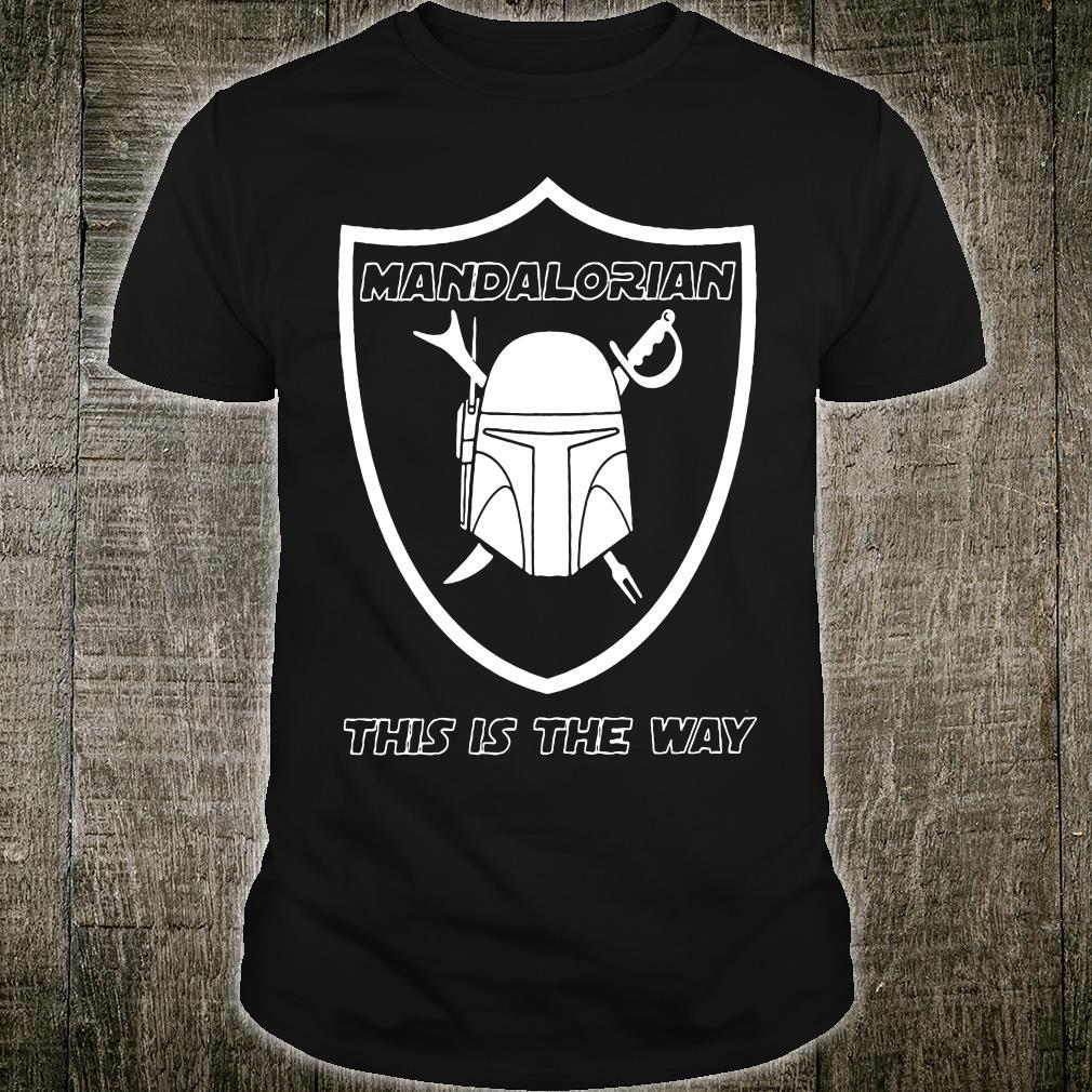 Mandalorian This Is The Way Shirt