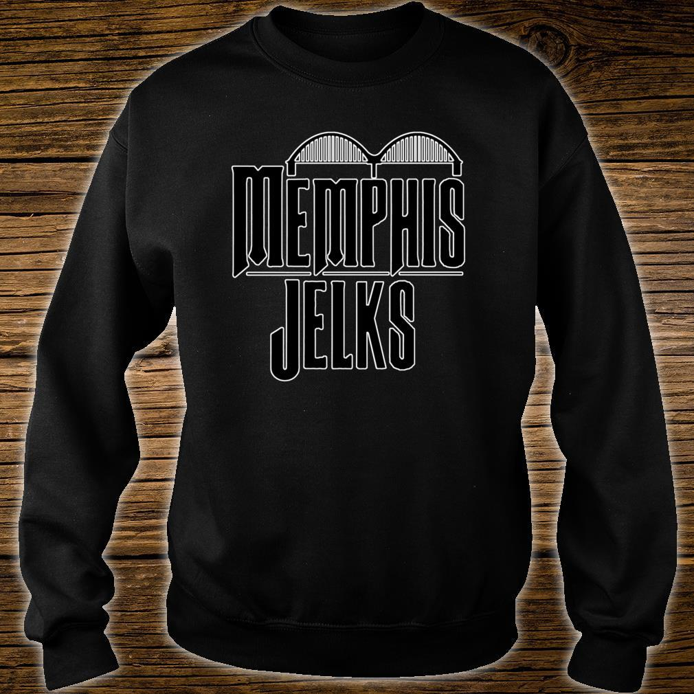 Memphis Jelks Black Letter Shirt sweater