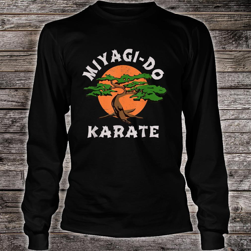 MiyagiDo Karate Karate Live Vintage Shirt long sleeved
