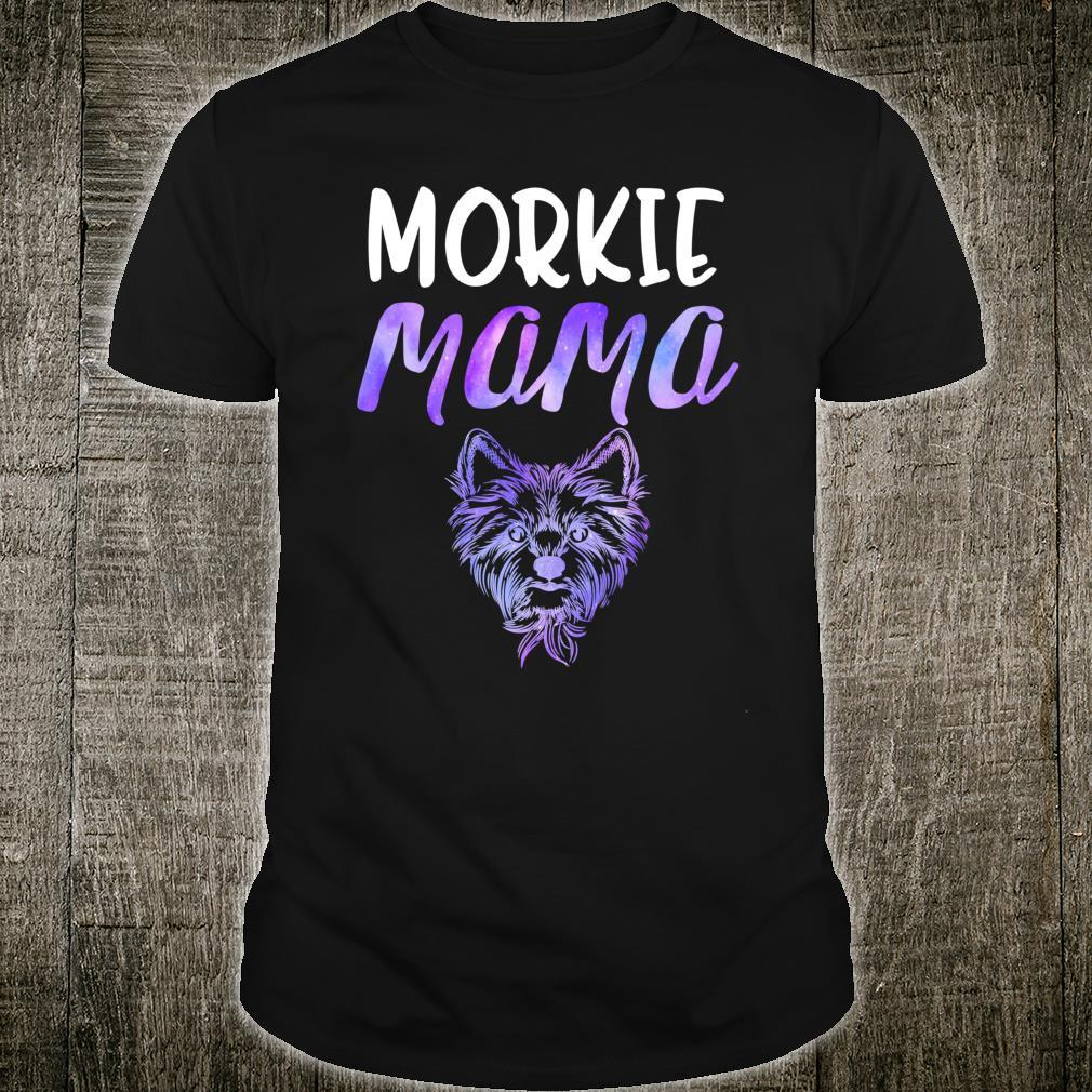 Morkie Mama Cute Yorkshire Maltese Terrier Dog Mom Yorkie Shirt
