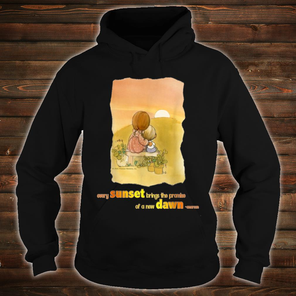 Precious Moments Every Sunset Brings The Promise Shirt hoodie