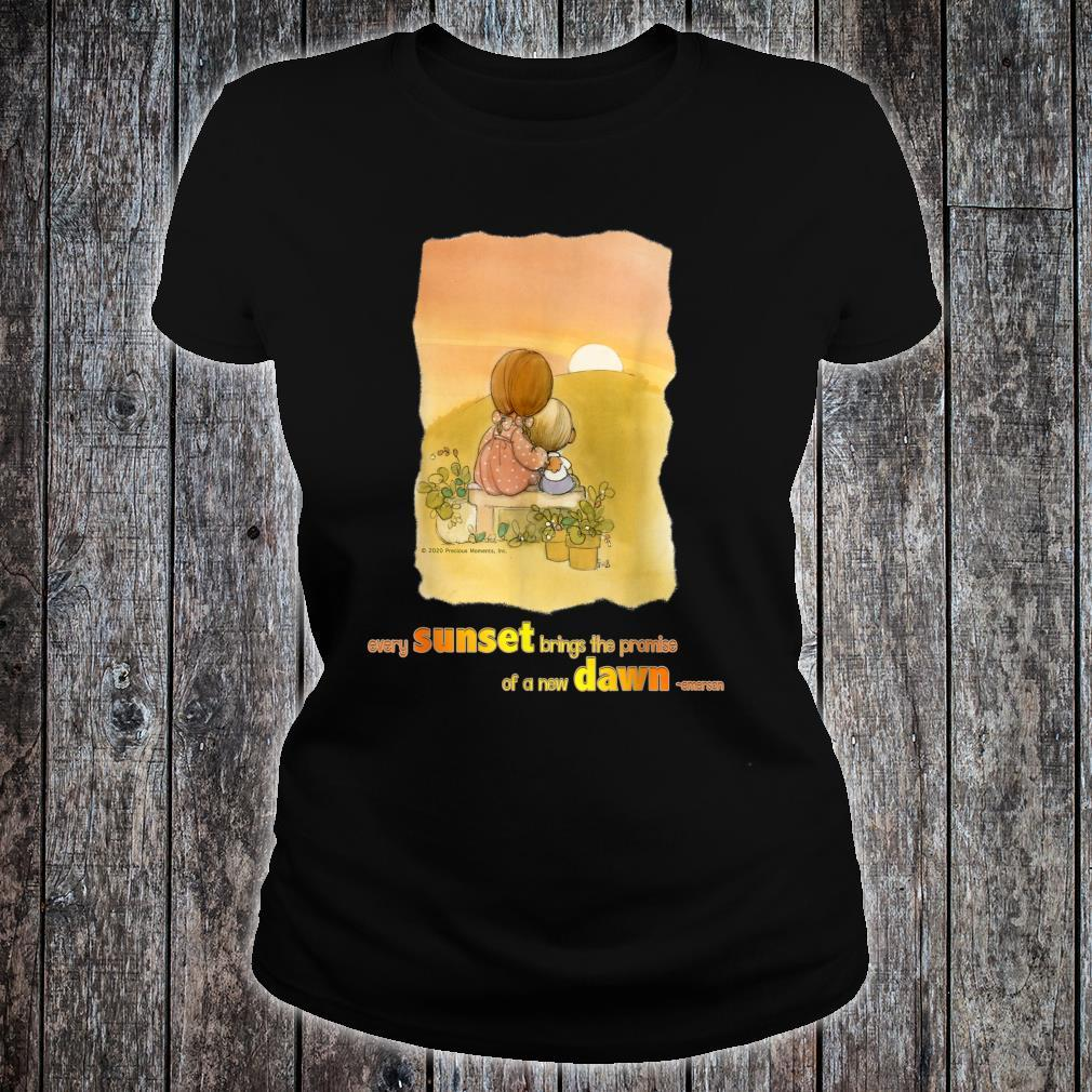 Precious Moments Every Sunset Brings The Promise Shirt ladies tee