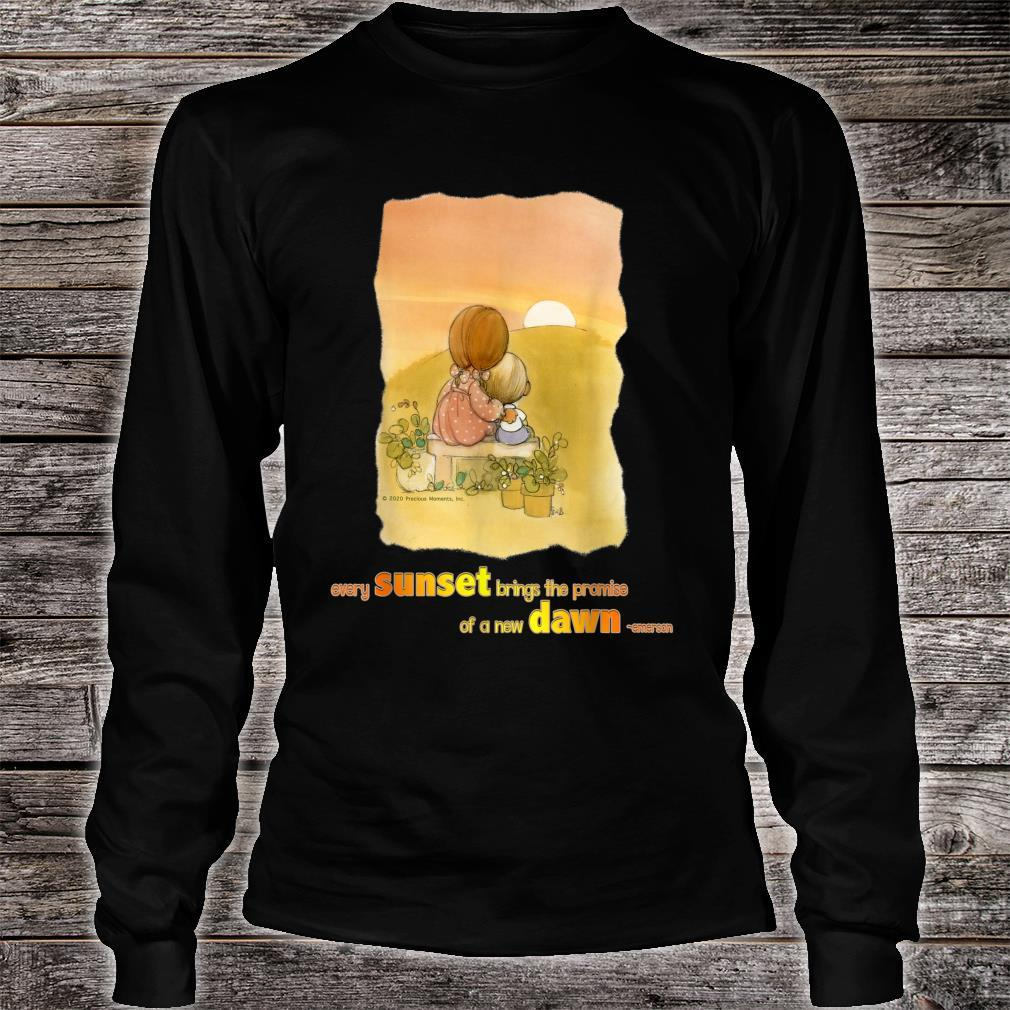 Precious Moments Every Sunset Brings The Promise Shirt long sleeved