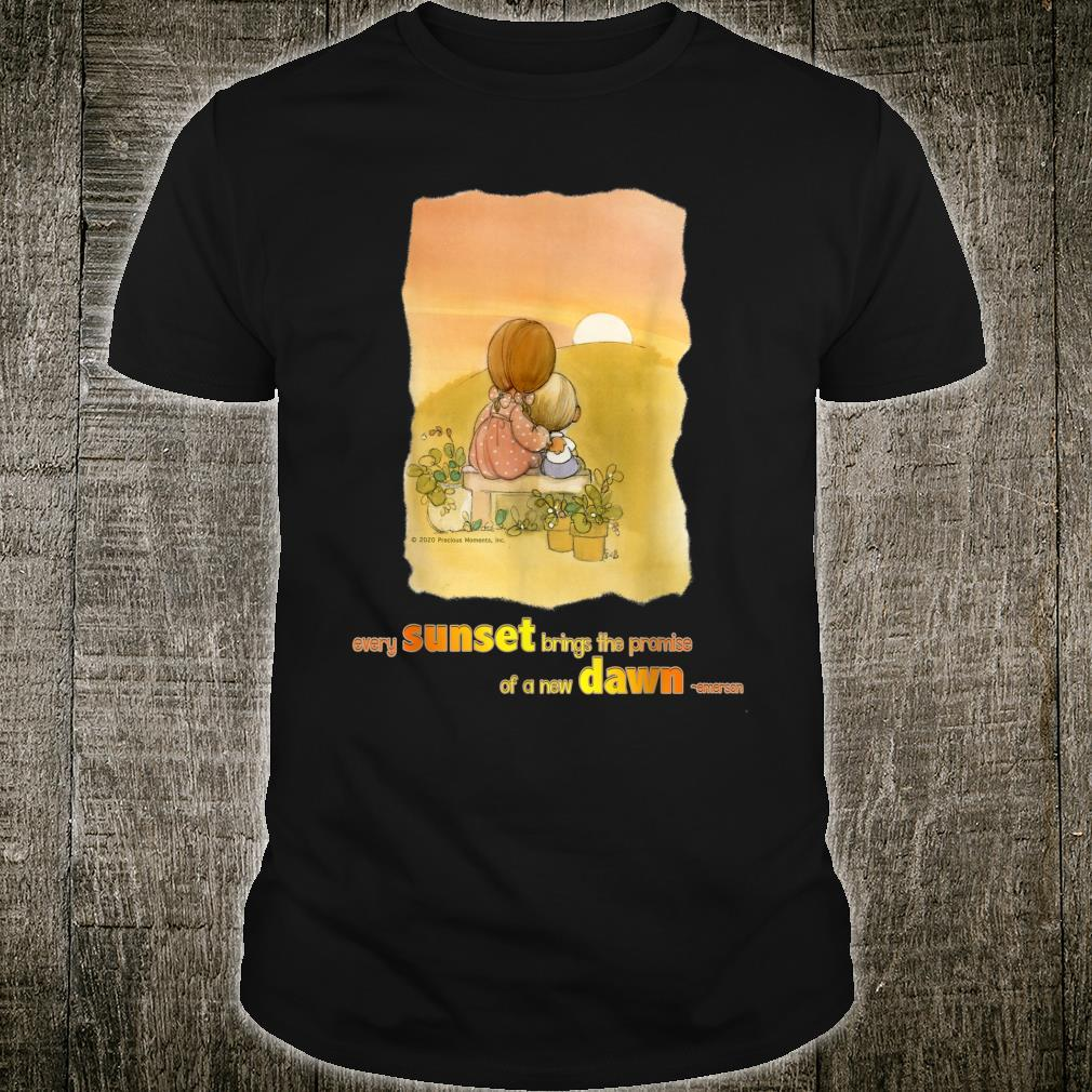 Precious Moments Every Sunset Brings The Promise Shirt