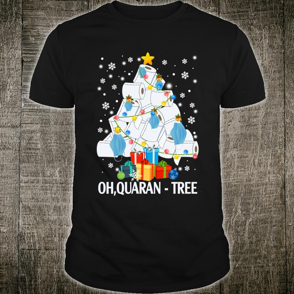 QuaranTree Toilet Paper Christmas Tree 2020 Quarantine Xmas Shirt