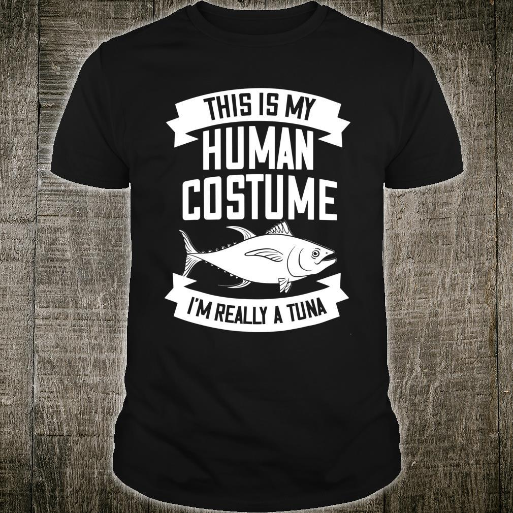 Red Tuna Costume Bluefin Tuna Fish Shirt