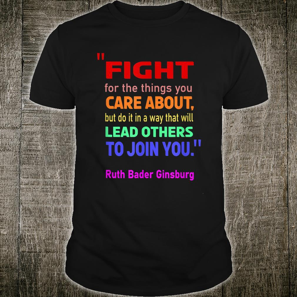 Ruth Bader Ginsburg's Rights Supreme Court Justice Shirt