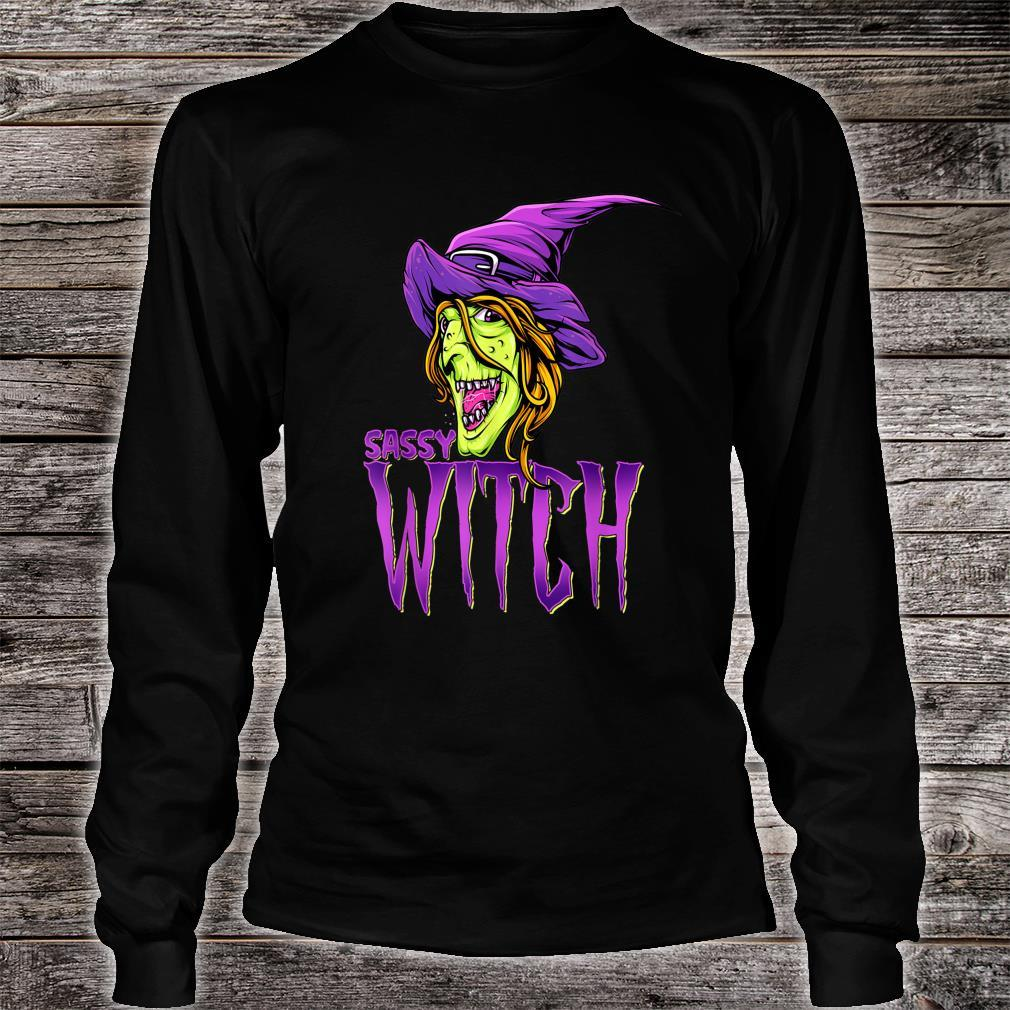 Sassy Witch Halloween Costume Matching Group Costume Shirt long sleeved