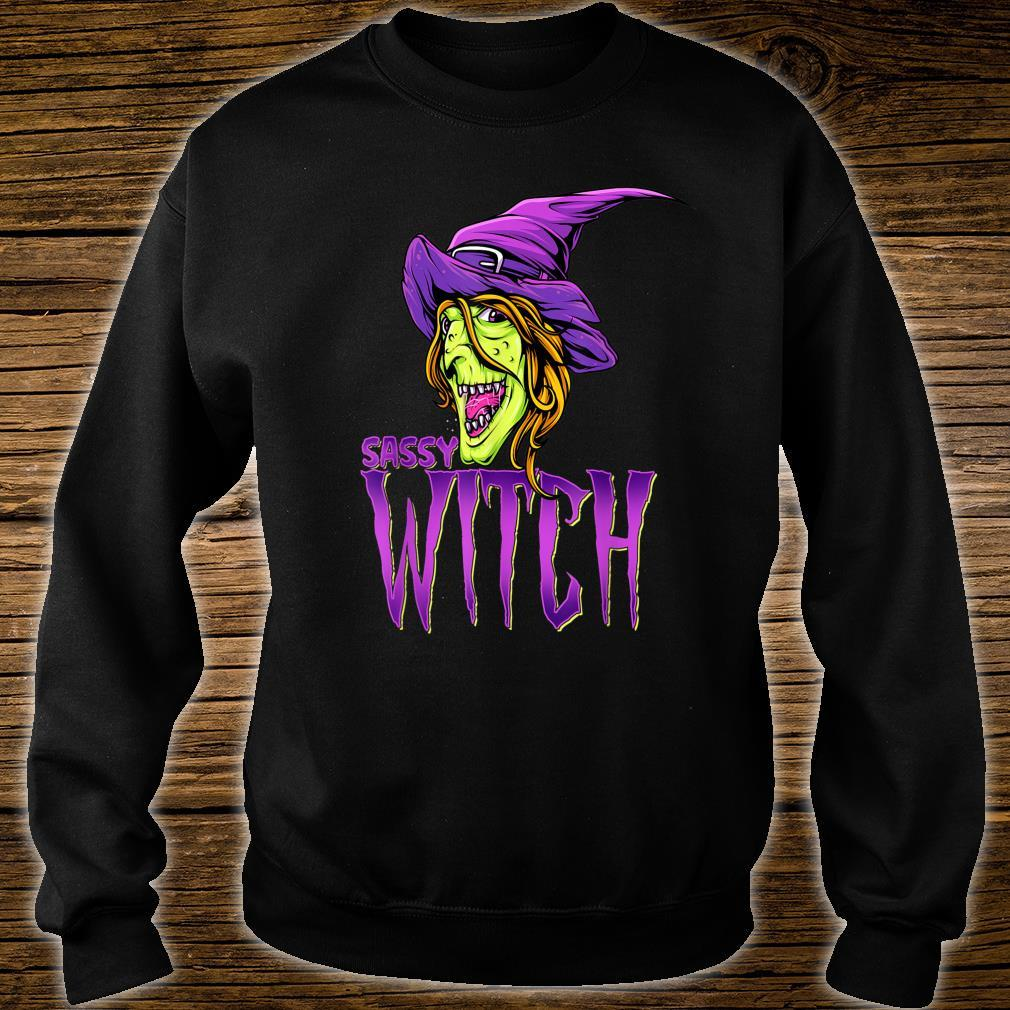 Sassy Witch Halloween Costume Matching Group Costume Shirt sweater