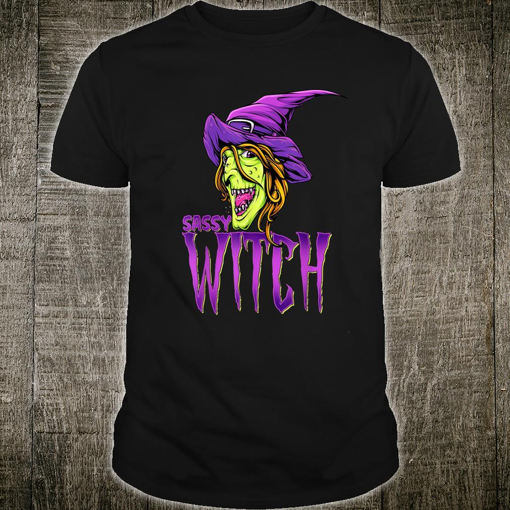 Sassy Witch Halloween Costume Matching Group Costume Shirt