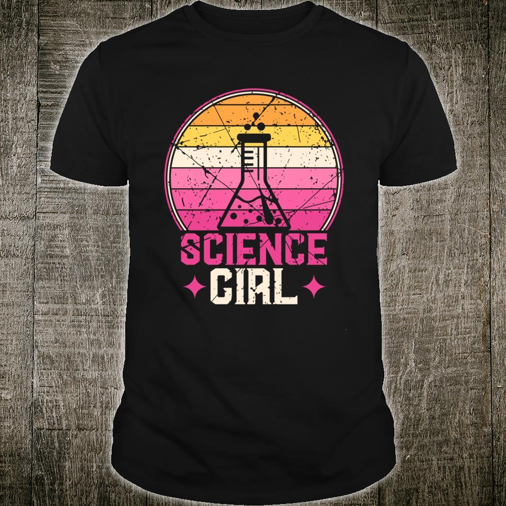 Science Girl Chemistry Shirt